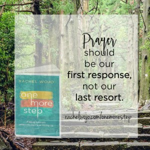 one more step share graphic prayer