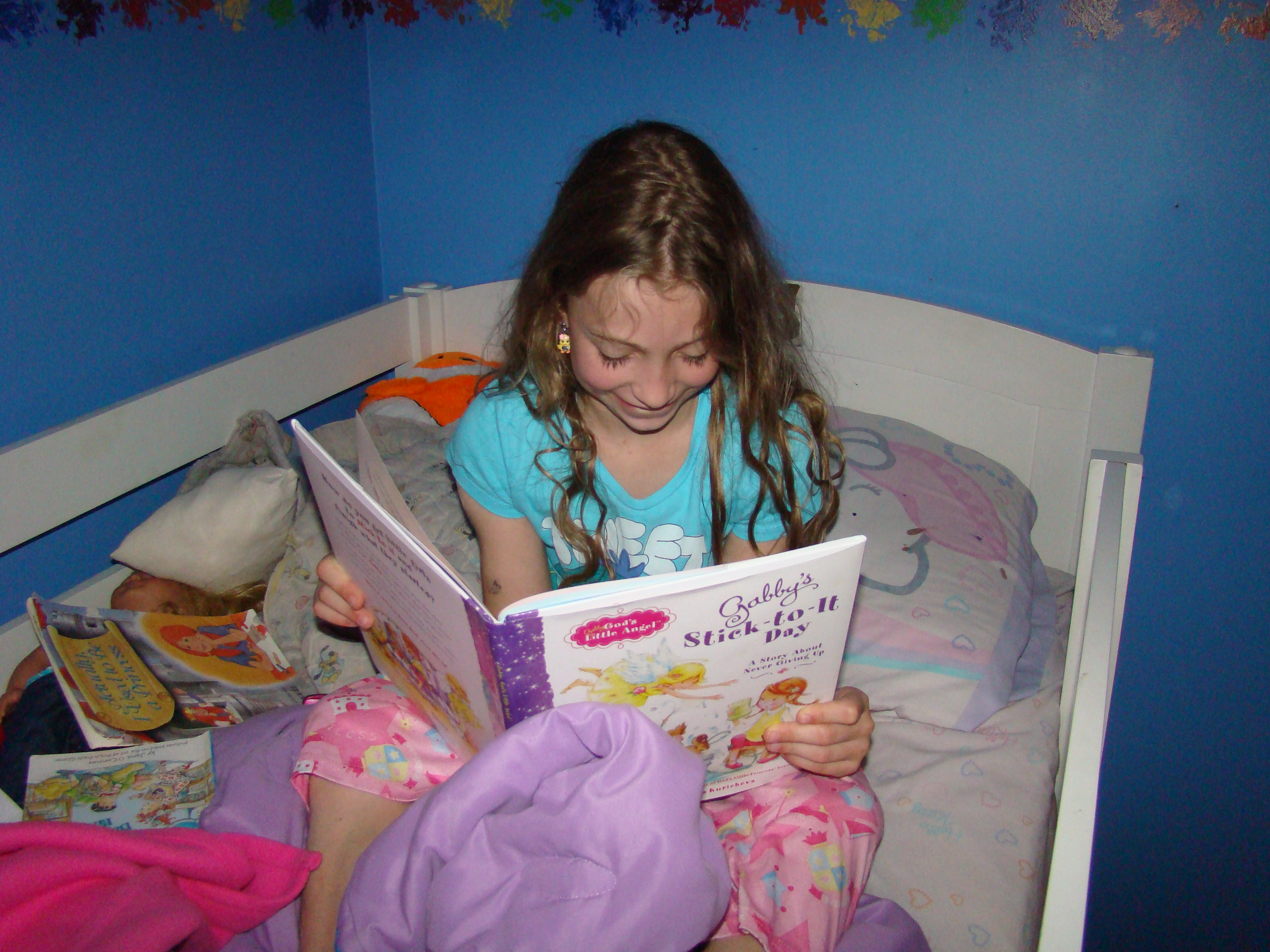 Gabby's Stick-to-it Day: Children's Book Giveaway