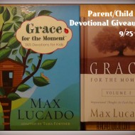 Grace for the Moment Devotional Giveaway