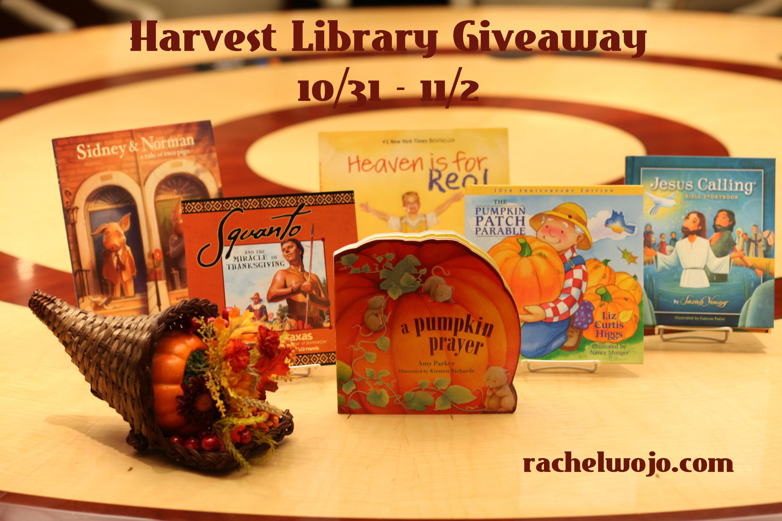 harvest book photo