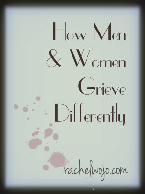 how men and women grieve