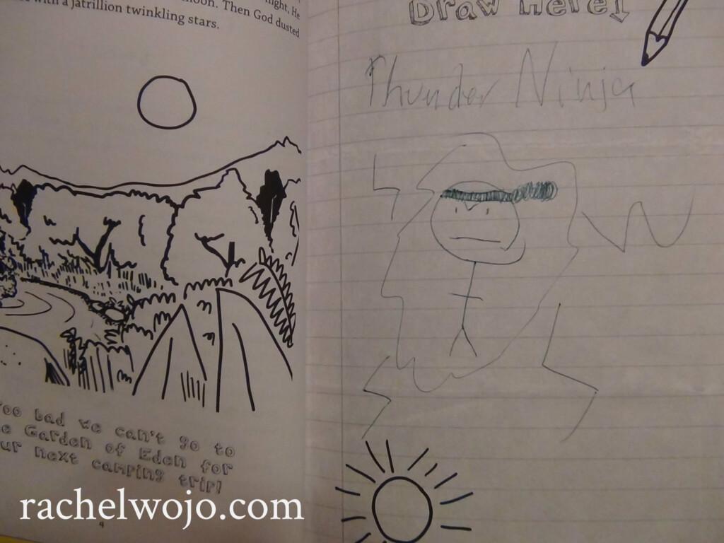 Doodle Page in NerdyNedSeries