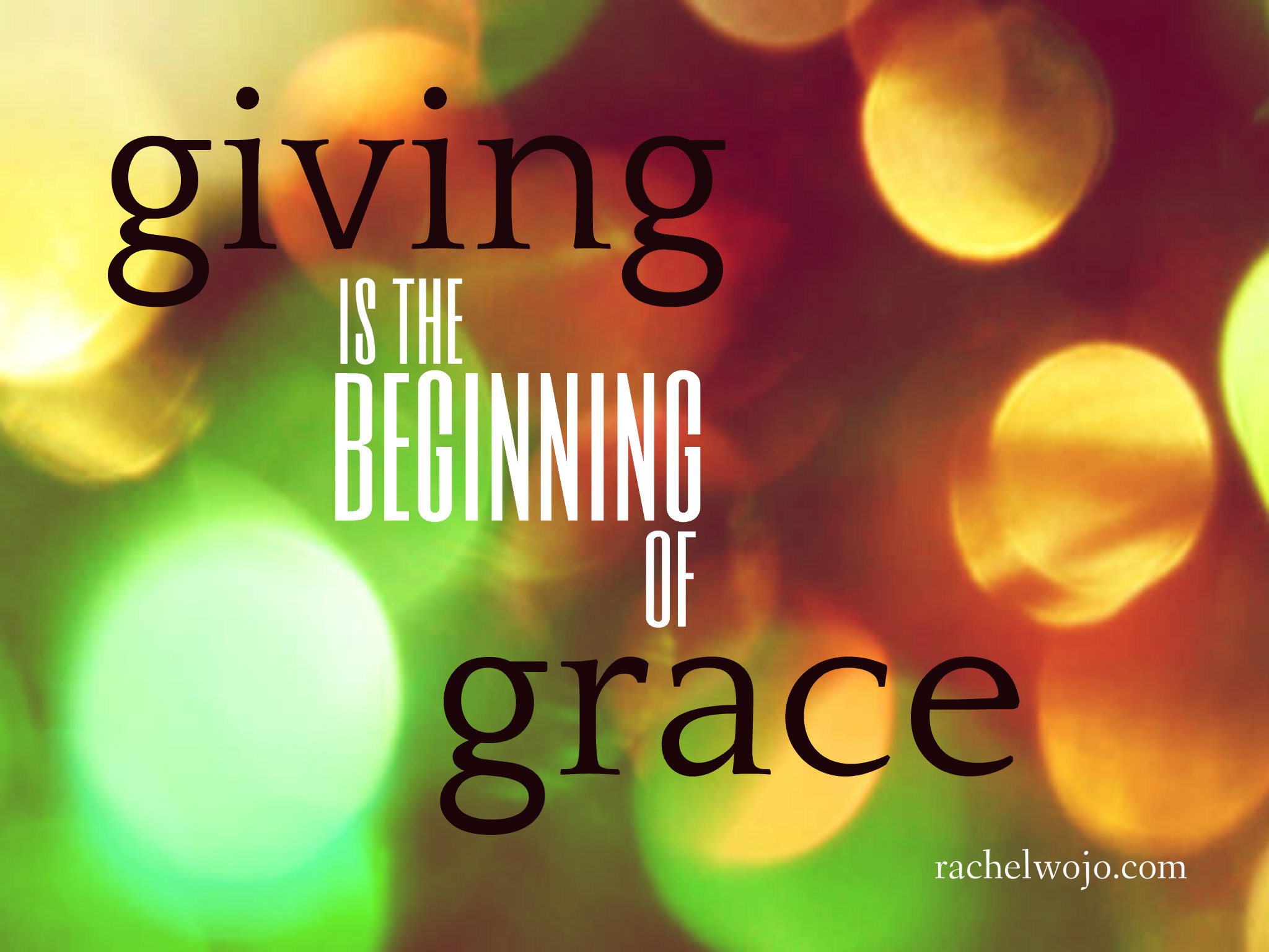 Grace Begins