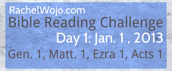 New Year Bible Reading Challenge