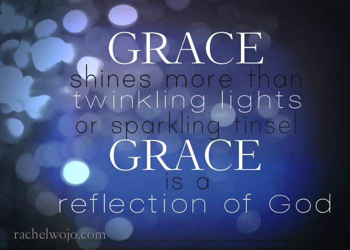 grace is a reflection of God