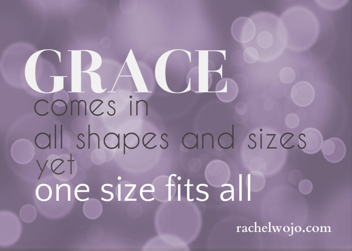 The Shape of Grace & Blogger Linkup