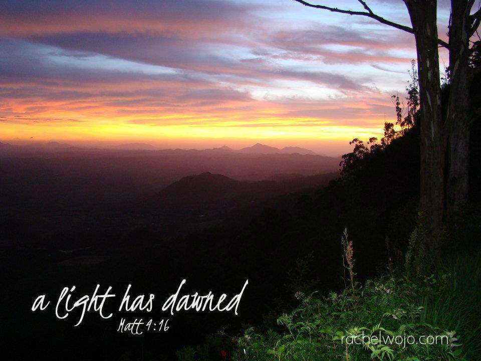 a light has dawned