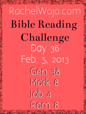 bible reading challenge day 36