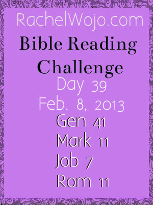 bible reading challenge day 39