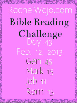 bible reading challenge day 43