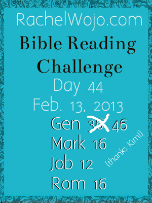 day44 Bible Reading challenge