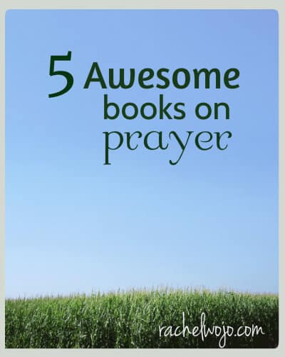 I simply never get tired of reading about answered prayers, thoughts on prayer or devotional prayers.  Enjoy these 5 awesome books on prayer!!