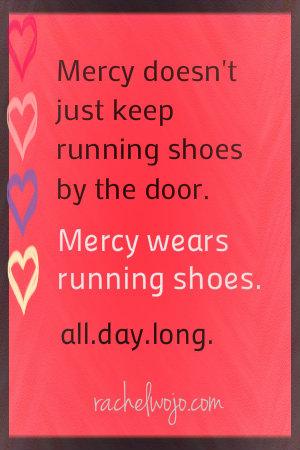 Mercy runs