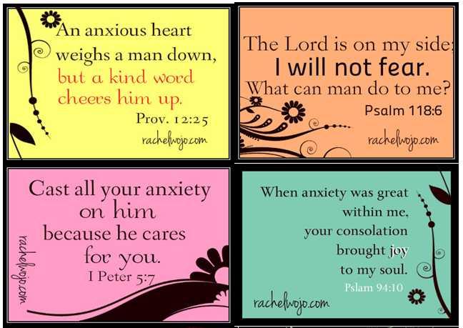 Bible verses to fight anxiety