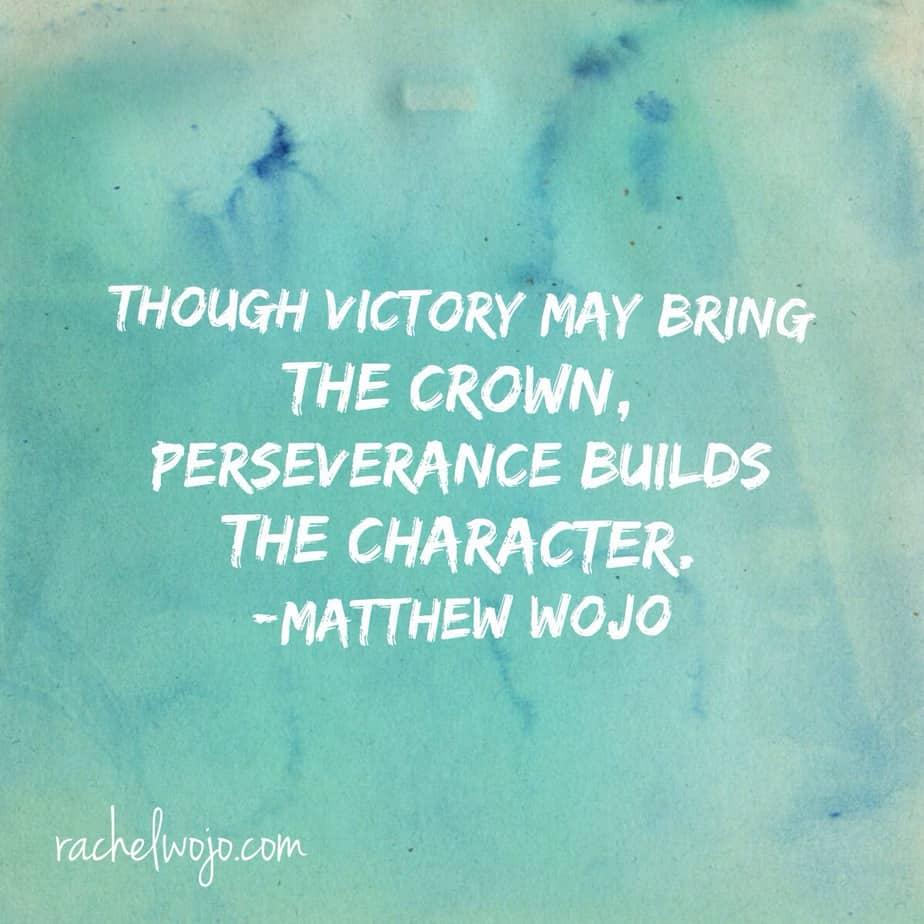 victory may bring