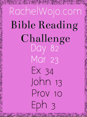 Bible Reading Challenge Day 82