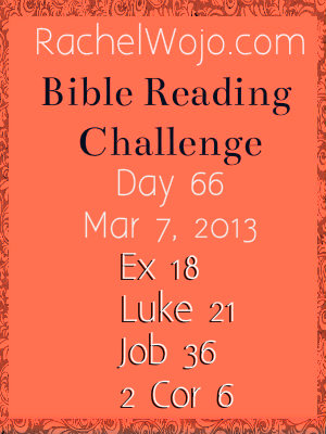 bible reading challenge day 66