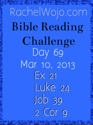 bible reading challenge day 69