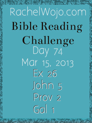 bible reading challenge day 74