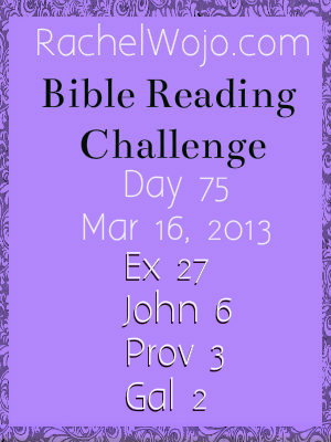 bible reading challenge day 75