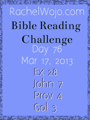 bible reading challenge day 76