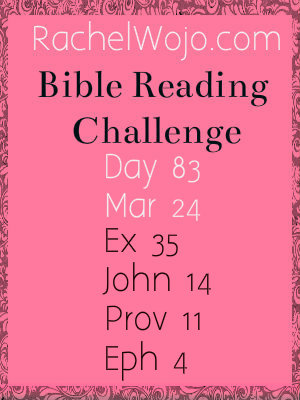 bible reading challenge day 83