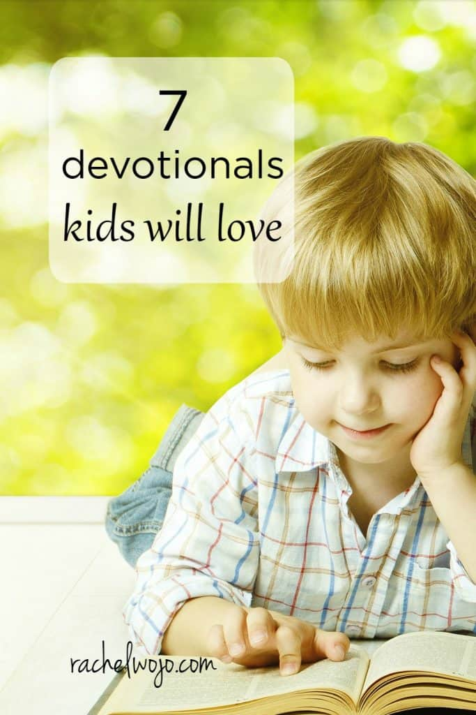 To encourage my children to have their own individual quiet times, I've found devotionals really provide guidance and focus for talking and listening time with God. In no particular order, here are 7 devotionals my kids love. Enjoy!