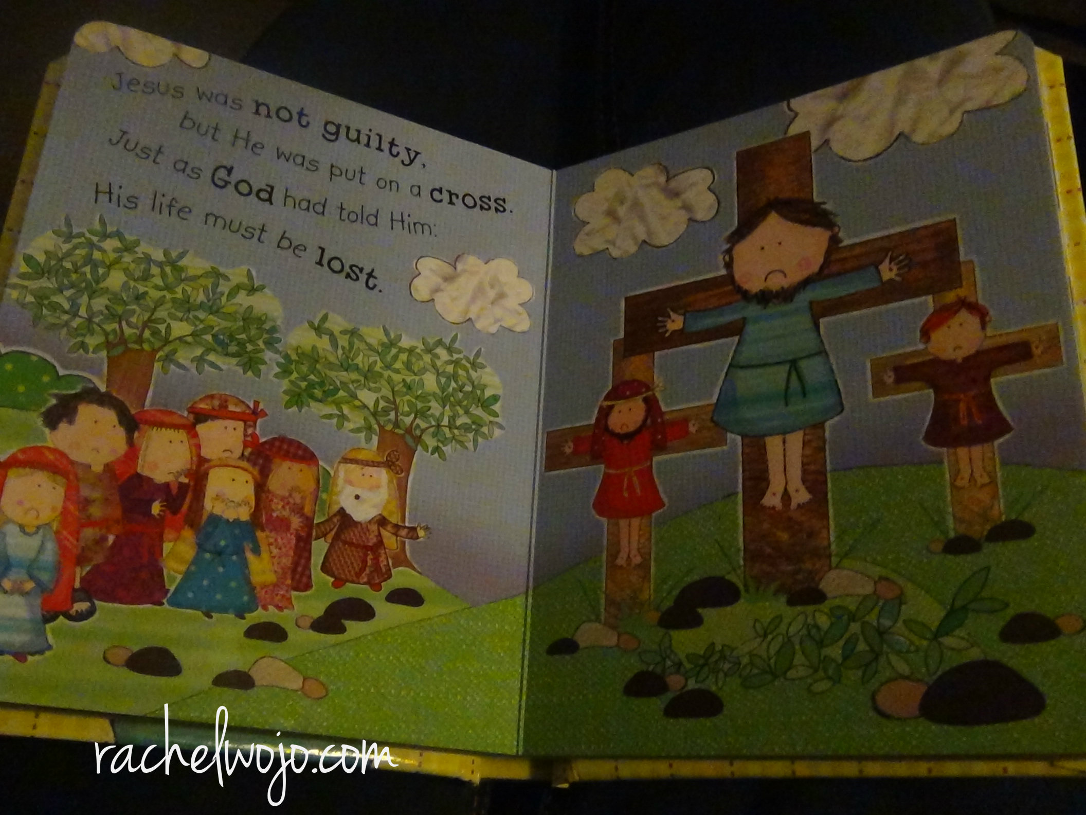 the story of easter book for children review and giveaway