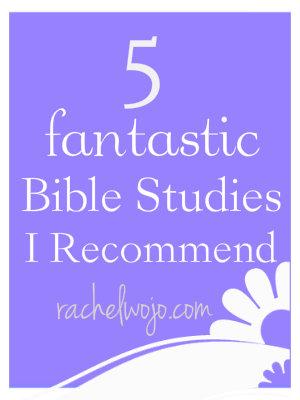 five fantastic bible studies I recommend