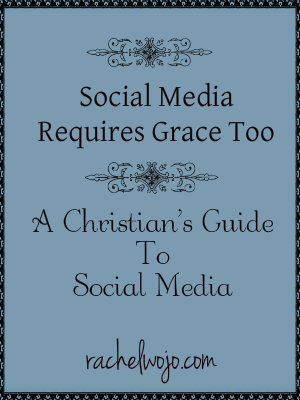 social media requires grace