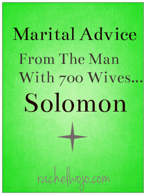 solomon advice