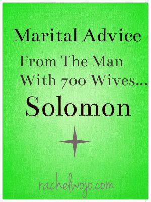 solomon advice