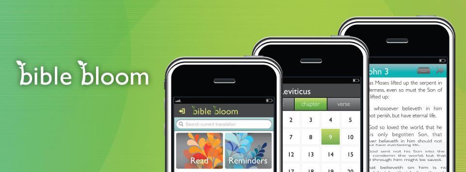 bible bloom
