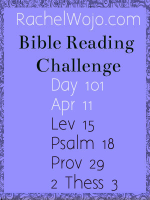 bible reading challenge day 101