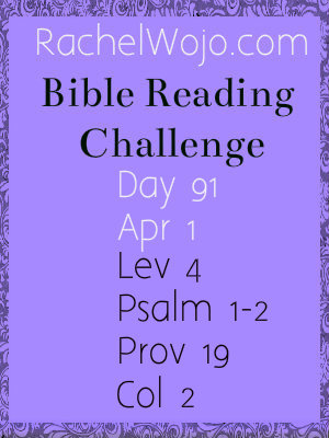 bible reading challenge day 91