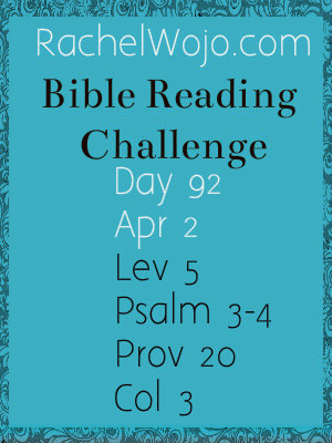 bible reading challenge day 92