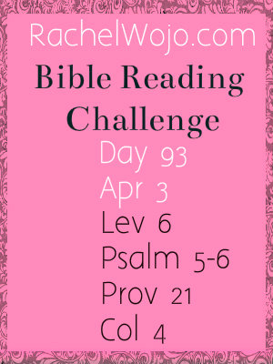bible reading challenge day 93
