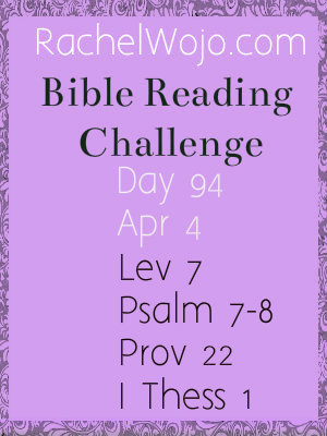 bible reading challenge day 94