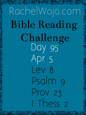 bible reading challenge day 95