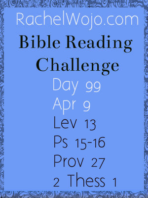 bible reading challenge day 99
