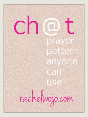 chat a prayer pattern anyone can use