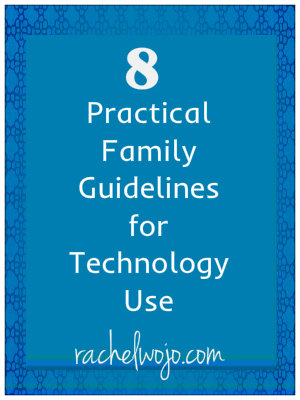 family guidelines for technology use