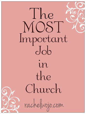 most important job