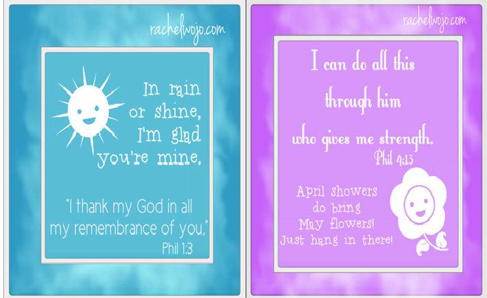 scripture note cards of encouragement
