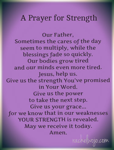 Prayer For Strength Quotes. QuotesGram