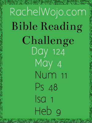 Bible Reading Challenge Day 124