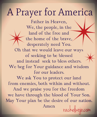 prayer for our nation