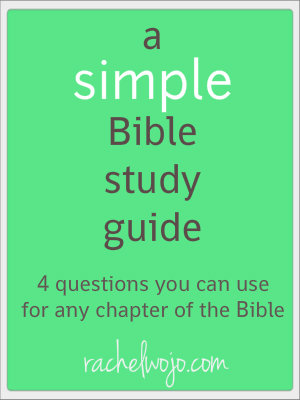 picture regarding Printable Bible Study Guides known as A Easy Bible Review Marketing consultant -