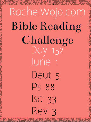 bible reading challenge day 152