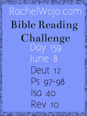 bible reading challenge day 159